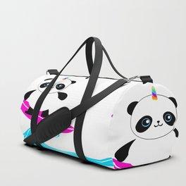 Surfing Pandacorn Duffle Bag