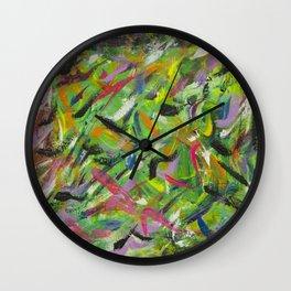 Risky Wall Clock