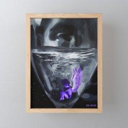Possessiveness Glass Framed Mini Art Print