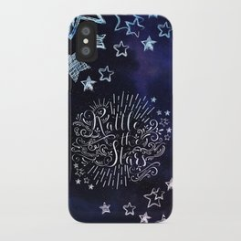 Rattle The Stars - Blue iPhone Case