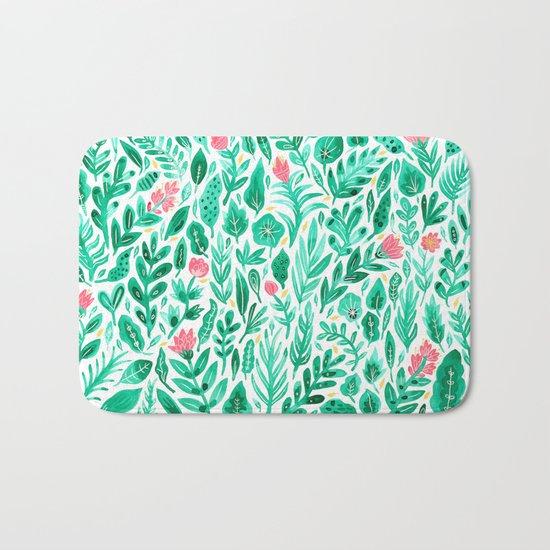 June Blooms Bath Mat