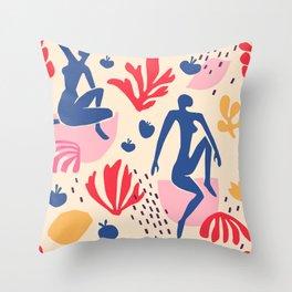 MATISSE DANCE PATTERN 1 Throw Pillow