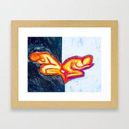 Ying Yang Sleep Framed Art Print