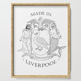 Made in Liverpool, ArtsGroupie Coat of Arms. Serving Tray