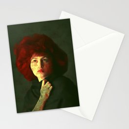 The red hat Stationery Cards