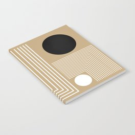 Lines & Circles Notebook