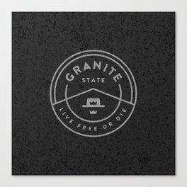 Granite State Canvas Print