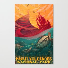Hawaii Volcanos National Park Canvas Print