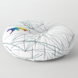 Cats Universe Floor Pillow