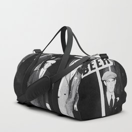 We Want Beer! Protesting Against Prohibition black and white photography - photographs Duffle Bag