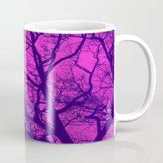 Pink and Blue Tree Mug