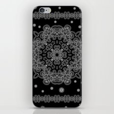 Elegant Black and White Mandala Case iPhone & iPod Skin