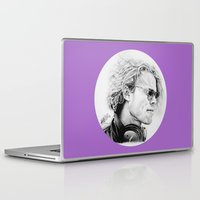 ashton irwin Laptop & iPad Skins featuring Ashton by Drawpassionn