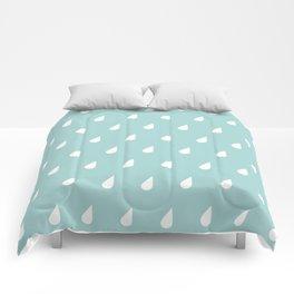 Raindrops Comforters