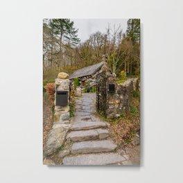 The Ugly House Snowdonia Metal Print