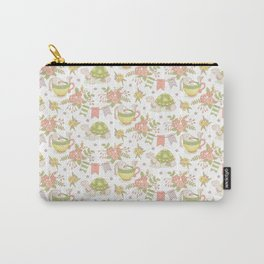 Hare and Tortoise -pattern- Carry-All Pouch
