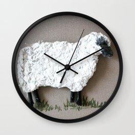 Lambkins, the Patriot Wall Clock