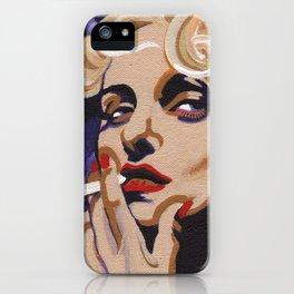 Carole Lombard iPhone Case