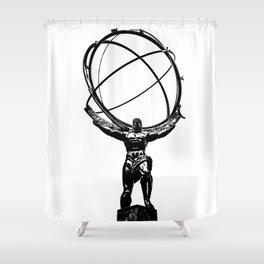 Atlas Shrugged Shower Curtains