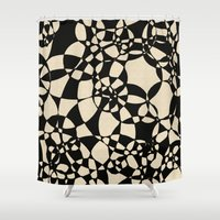 mosaic Shower Curtains featuring Mosaic by Glanoramay