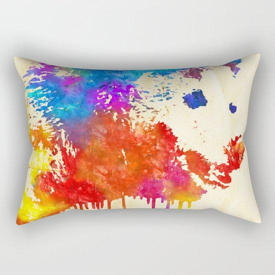 Rainbobear Rectangular Pillow