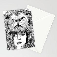 Lion Lady Stationery Cards