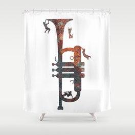 Jazzed Shower Curtain