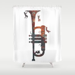 Jazzed Shower Curtain