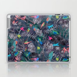 Birds and Flowers Color Pencil Laptop & iPad Skin