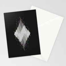 Flocking Mountain Lights Stationery Cards