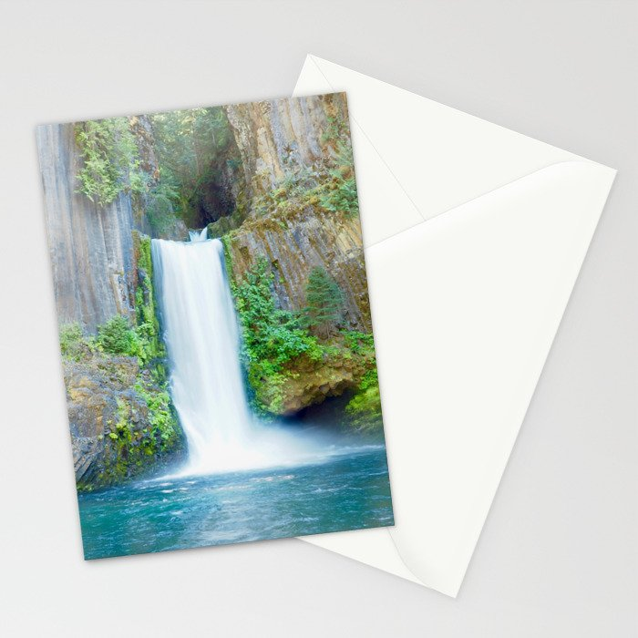 Oregon Waterfall Stationery Cards