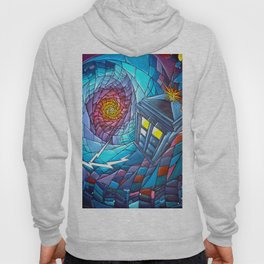 Tardis stained glass style Hoody