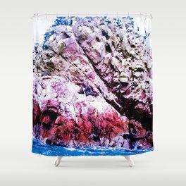 Beautiful marine life. Shower Curtain