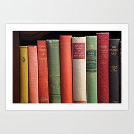 Old Books Art Print
