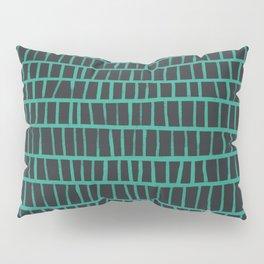 green pattern Pillow Sham