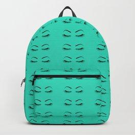 Closed Eyelashes (Both Eyes) Backpack