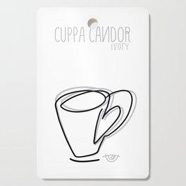 Cuppa Candor [Ivory] Cutting Board