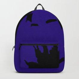 blue violet Backpack