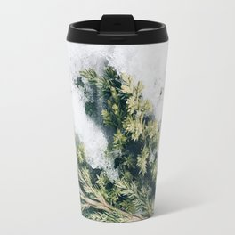 Branches in the snow Travel Mug