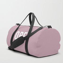 OPE Lavender Duffle Bag