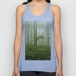 Dreaming of Appalachia - Nature Photography Digital Landscape Unisex Tank Top