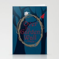 over the garden wall Stationery Cards featuring Over The Garden Wall by Tourmaline Design
