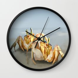 Two Pairs of Eyes Wall Clock