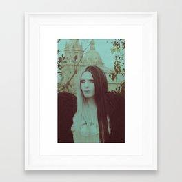 Evil Lady Framed Art Print