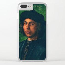 Portrait of a Young Man by Albrecht Dürer Clear iPhone Case