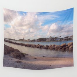 Winter Afternoon, Jupiter Inlet Lighthouse Wall Tapestry