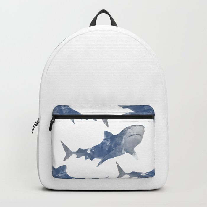 The World is Full of Sharks Backpack