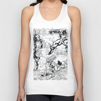 comics Tank Tops featuring Comics by Burg