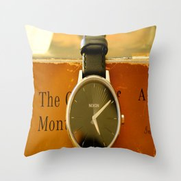 Time is on your side Throw Pillow