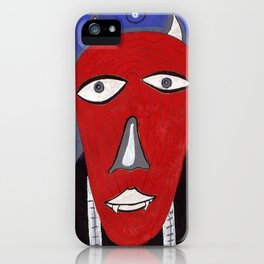Head 28 iPhone Case